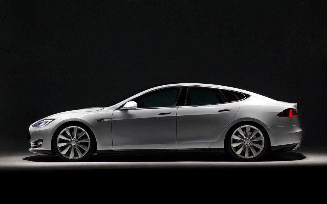 cars Tesla Model S wallpaper