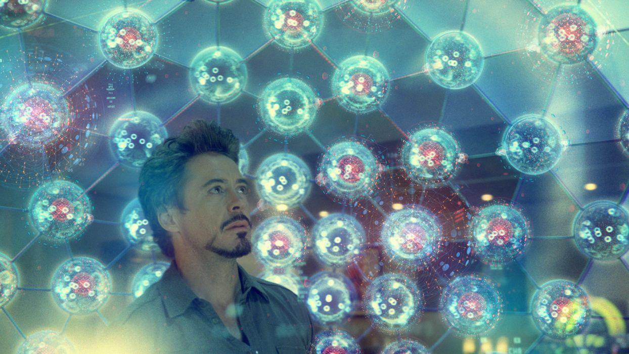 elements Tony Stark Robert Downey Jr Iron Man 2 wallpaper