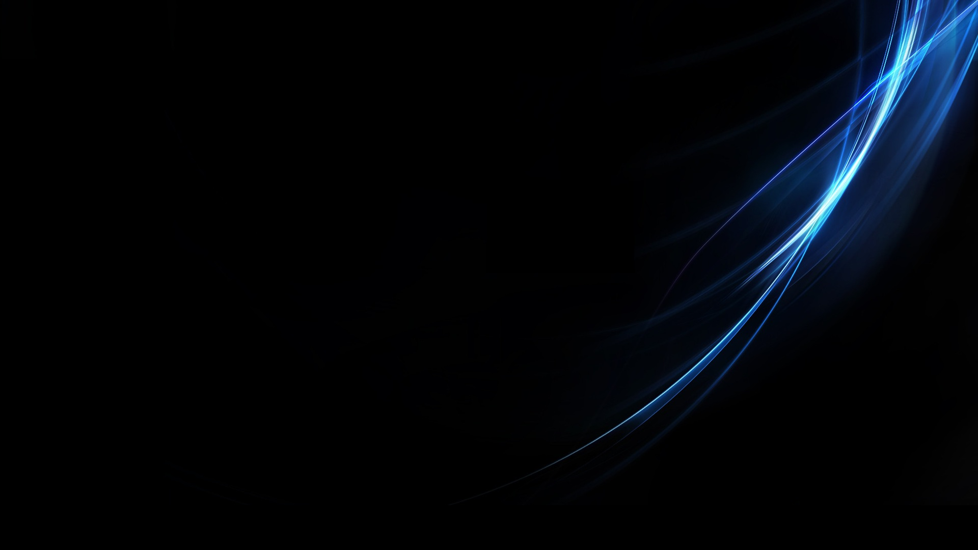 Abstract Blue Black Minimalistic Wallpaper 1920x1080 186307