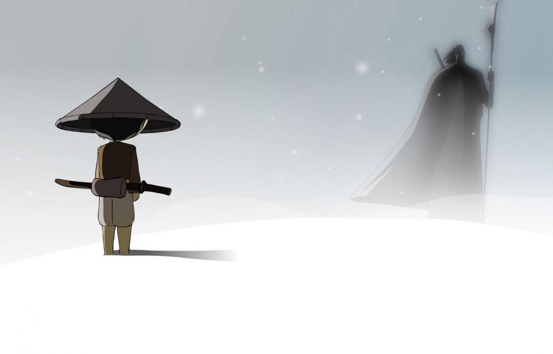cartoons snow animation anime ninjay wallpaper
