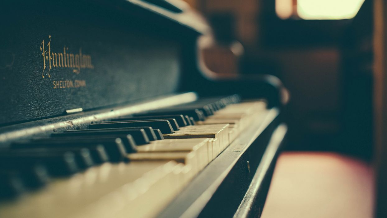 Music Piano Old Instruments Depth Of Field Piano Keys Musical