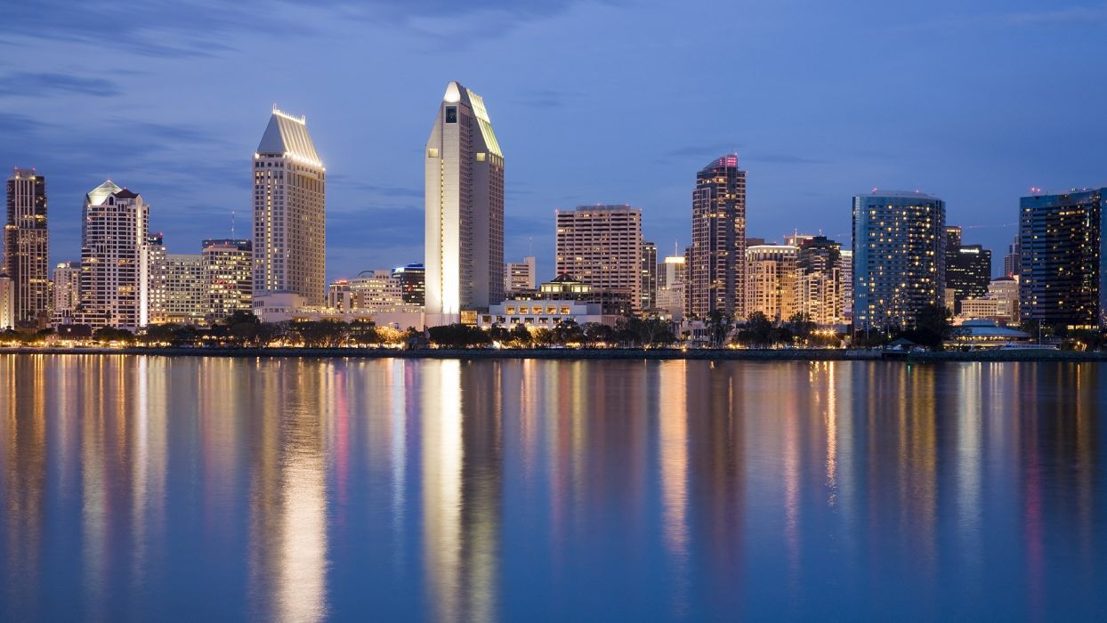 cityscapes California San Diego wallpaper