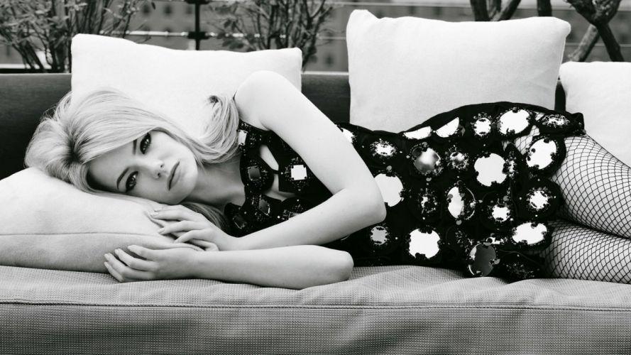 women Emma Stone models wallpaper