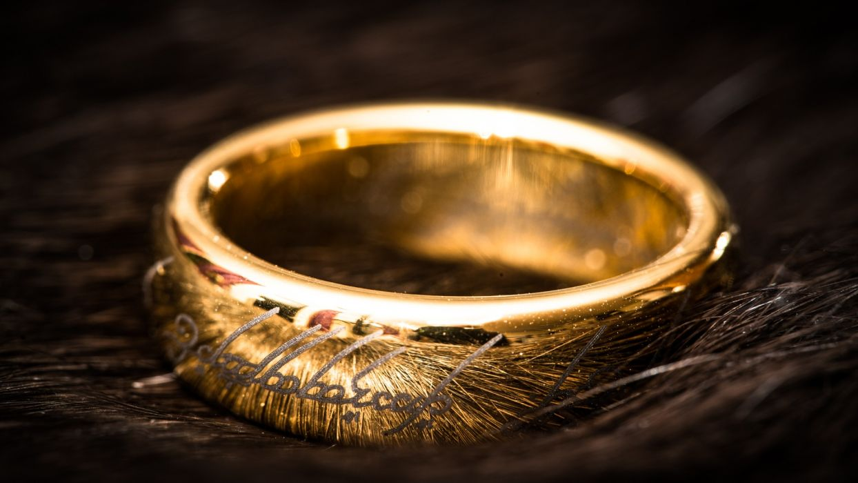 Rings The Lord Of The Rings One Ring Wallpaper 1920x1080