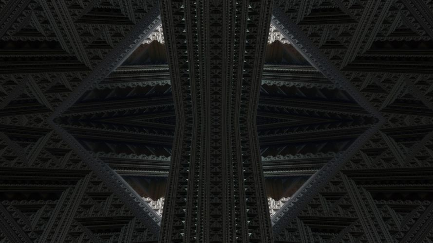 abstract renders wallpaper