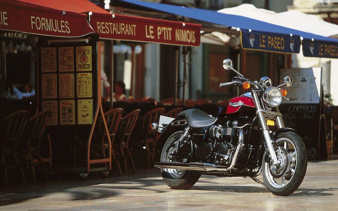 motorbikes Triumph Motorcycles speedmaster Cruiser bike Triumph wallpaper