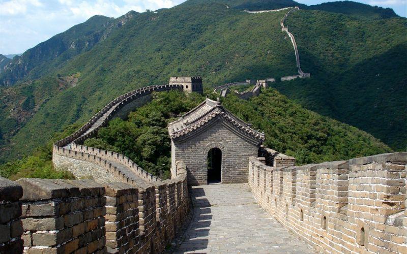 landscapes China Great Wall of China wallpaper
