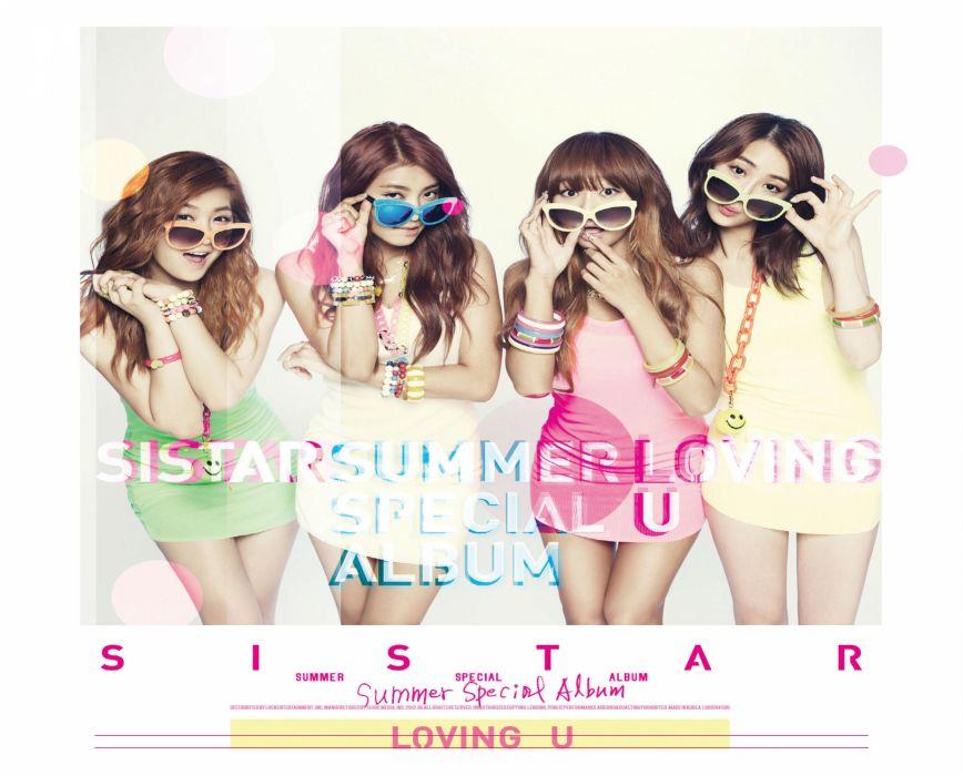 SISTAR K-pop Hip Hop Electronic Dance korea korean kpop pop poster   fg wallpaper