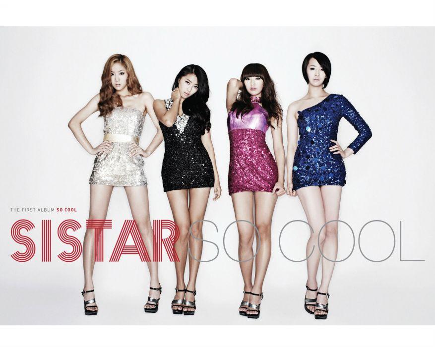 SISTAR K-pop Hip Hop Electronic Dance korea korean kpop pop poster  rg wallpaper