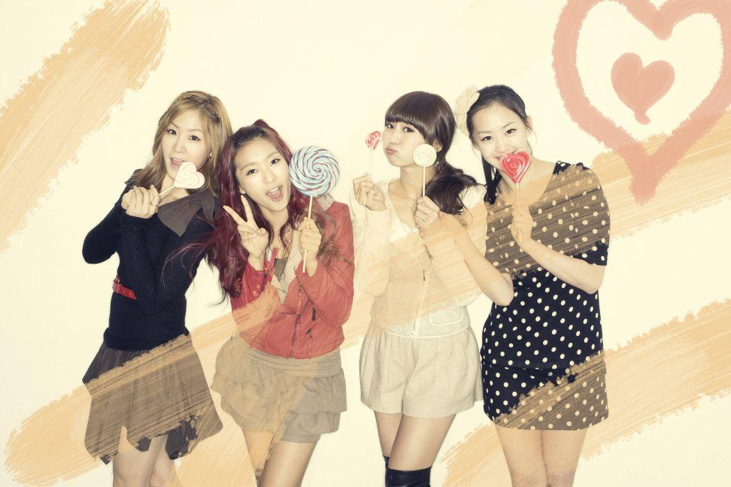 SISTAR K-pop Hip Hop Electronic Dance korea korean kpop pop    e wallpaper
