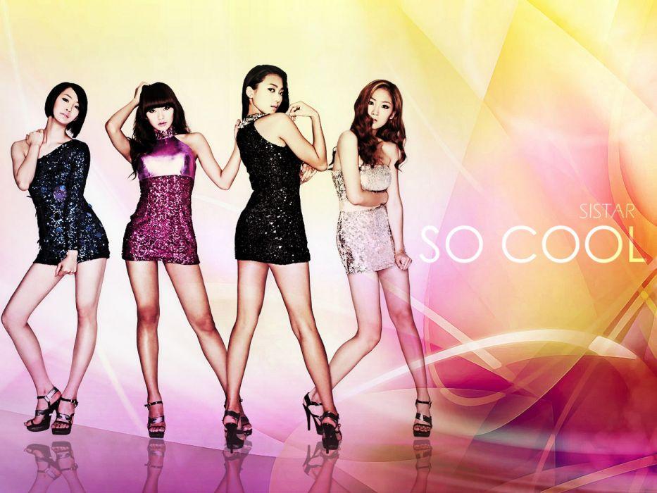 SISTAR K-pop Hip Hop Electronic Dance korea korean kpop pop   tw wallpaper
