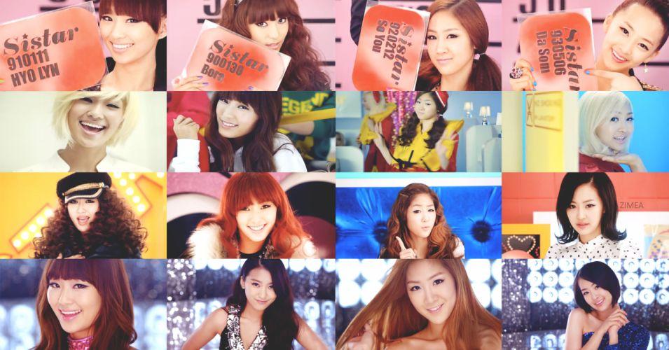 SISTAR K-pop Hip Hop Electronic Dance korea korean kpop pop 3 wallpaper