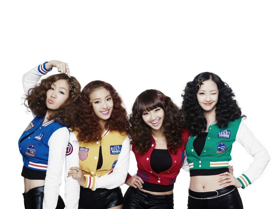 SISTAR K-pop Hip Hop Electronic Dance korea korean kpop pop  g wallpaper