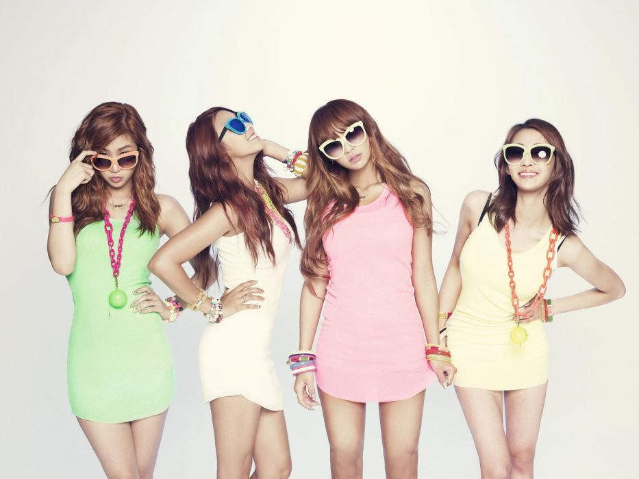 SISTAR K-pop Hip Hop Electronic Dance korea korean kpop pop glasses    f wallpaper