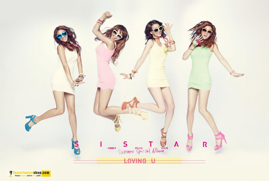 SISTAR K-pop Hip Hop Electronic Dance korea korean kpop pop poster g wallpaper