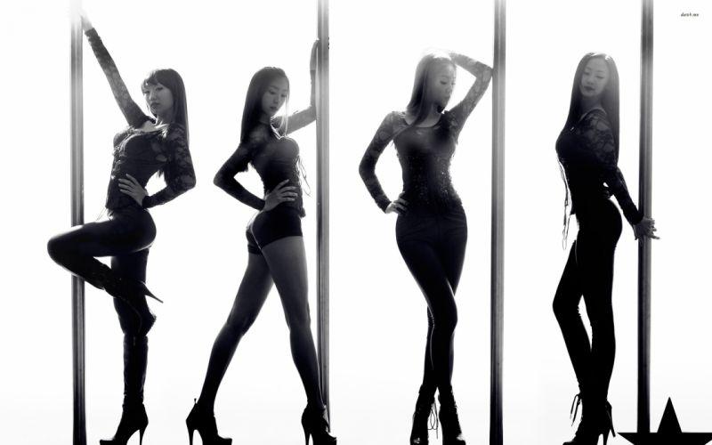 SISTAR K-pop Hip Hop Electronic Dance korea korean kpop pop sexy babe g wallpaper