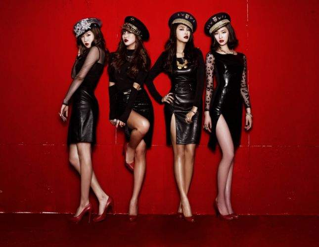 SISTAR K-pop Hip Hop Electronic Dance korea korean kpop pop sexy babe h wallpaper