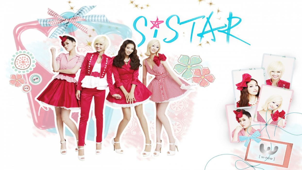 SISTAR K-pop Hip Hop Electronic Dance korea korean kpop pop poster  d wallpaper
