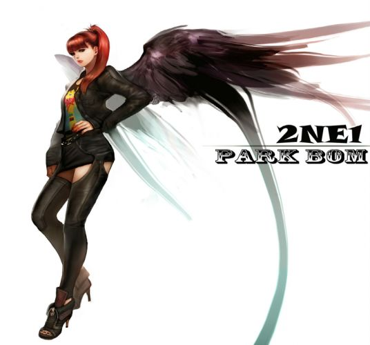 2NE1 k-pop pop dance korean korea anime poster angel fantasy f wallpaper