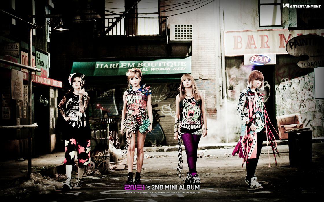 2NE1 k-pop pop dance korean korea poster    gs wallpaper