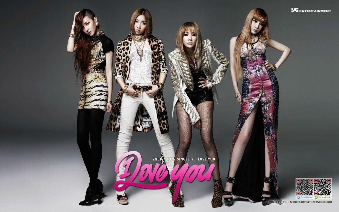 2NE1 k-pop pop dance korean korea poster    r wallpaper