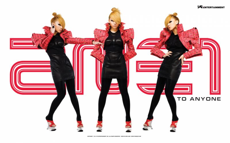 2NE1 k-pop pop dance korean korea poster gi wallpaper