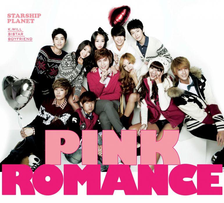 BOYFRIEND SISTAR k-pop pop dance korean korea poster     fs wallpaper