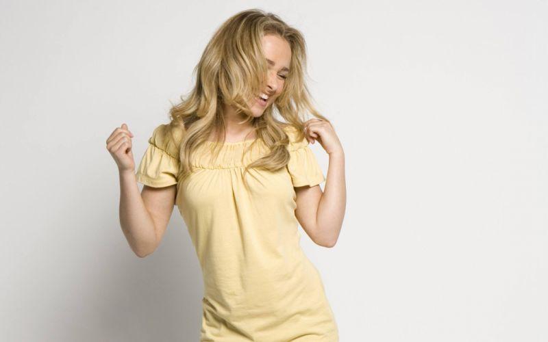 blondes women actress Hayden Panettiere wallpaper
