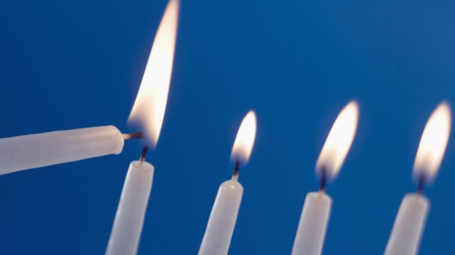 fire candles wallpaper