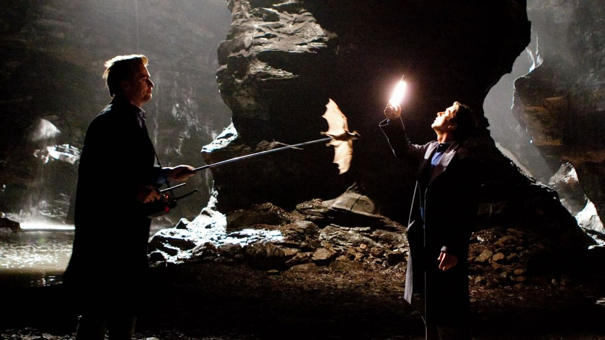 Batman Christian Bale Christopher Nolan Set Photos wallpaper
