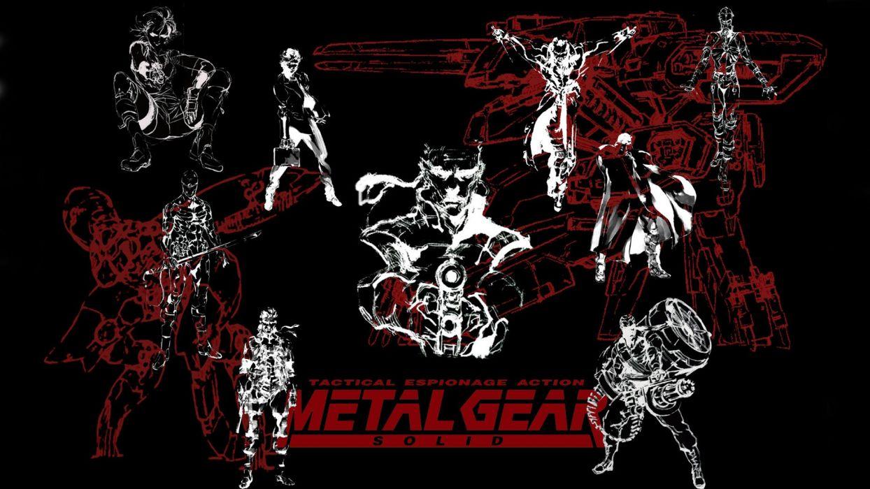 Metal Gear Solid Solid Snake Wallpaper 1920x1080 186882