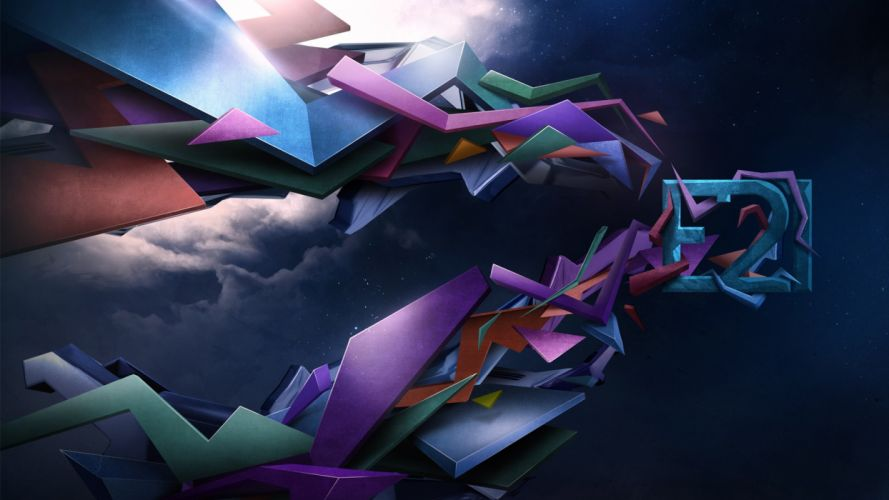 abstract clouds digital art wallpaper