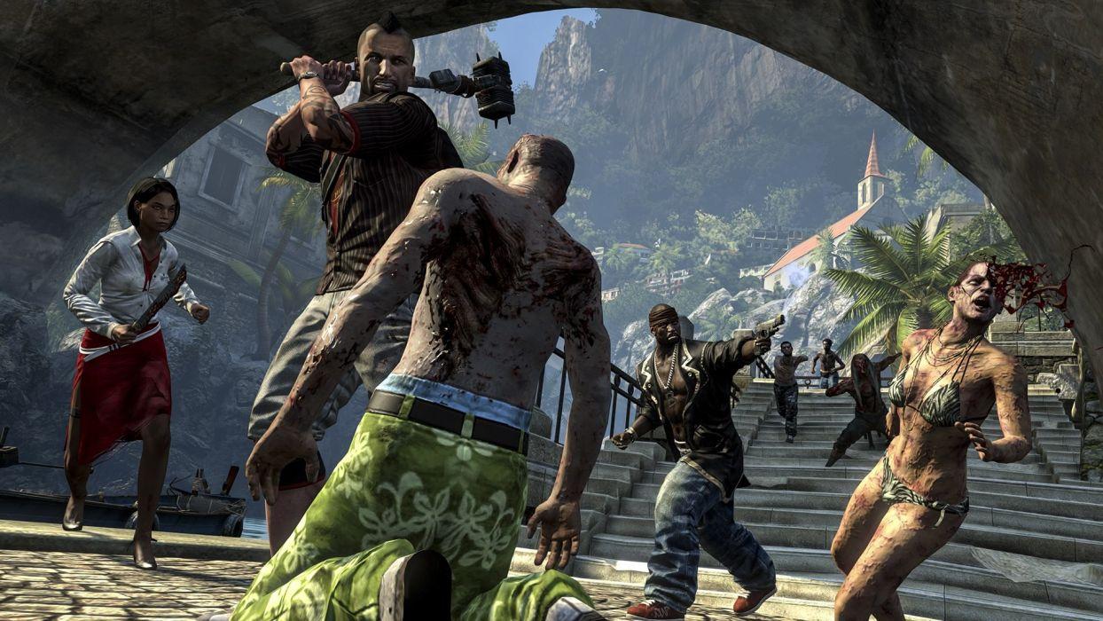 video games zombies Dead Island Riptide Dead Island: Riptide wallpaper