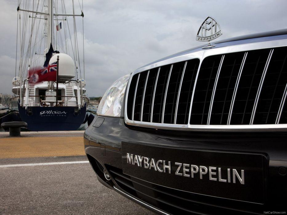 cars luxury Maybach Zeppelin wallpaper