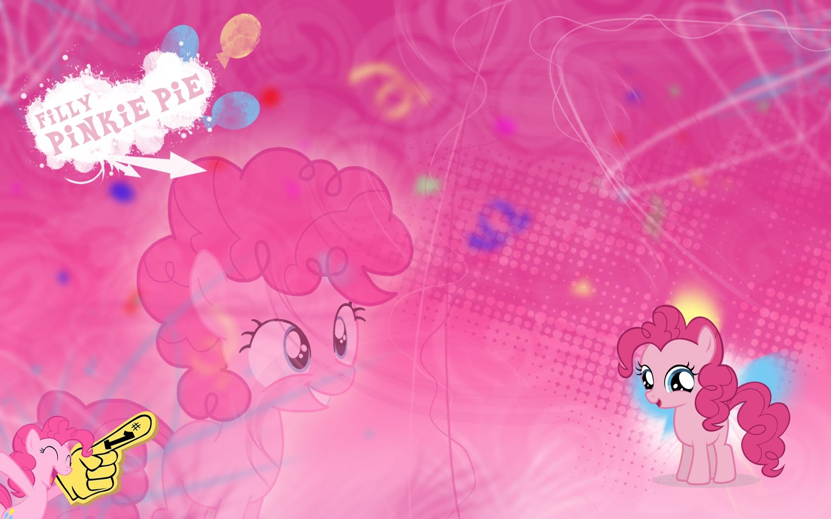 My Little Pony Pinkie Pie Wallpaper 1680x1050 186980 Wallpaperup