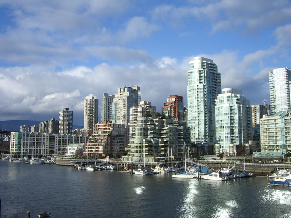 cityscapes Vancouver wallpaper