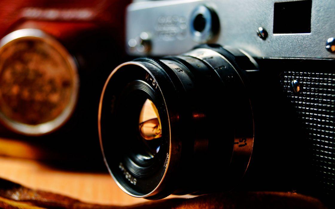 cameras macro objects wallpaper