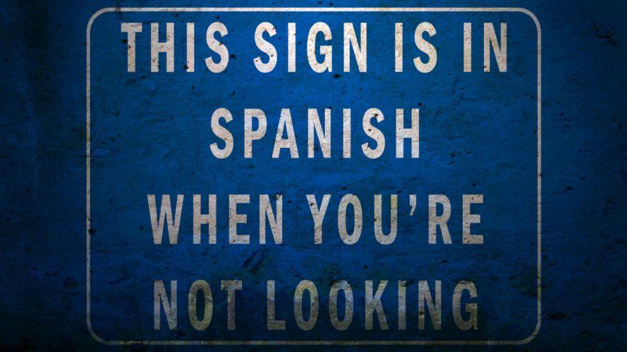 funny sign wallpaper