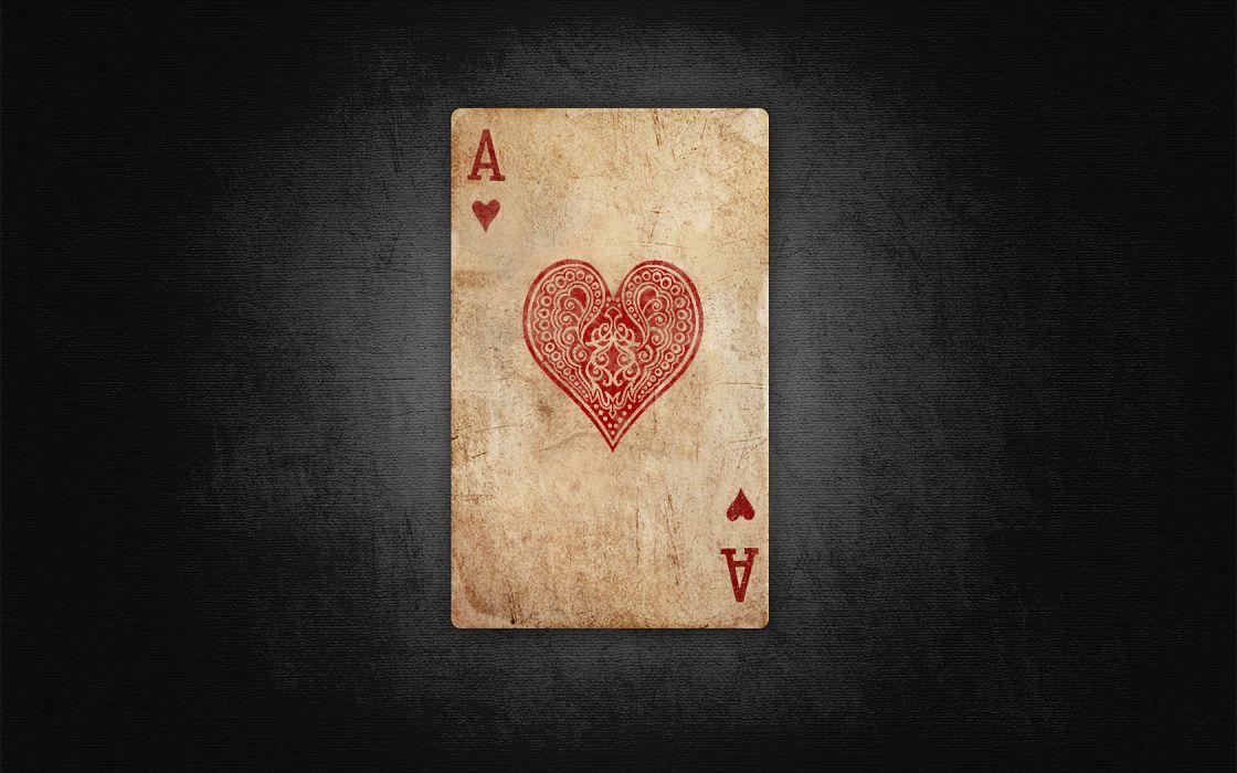 cards retro poker Ace wallpaper