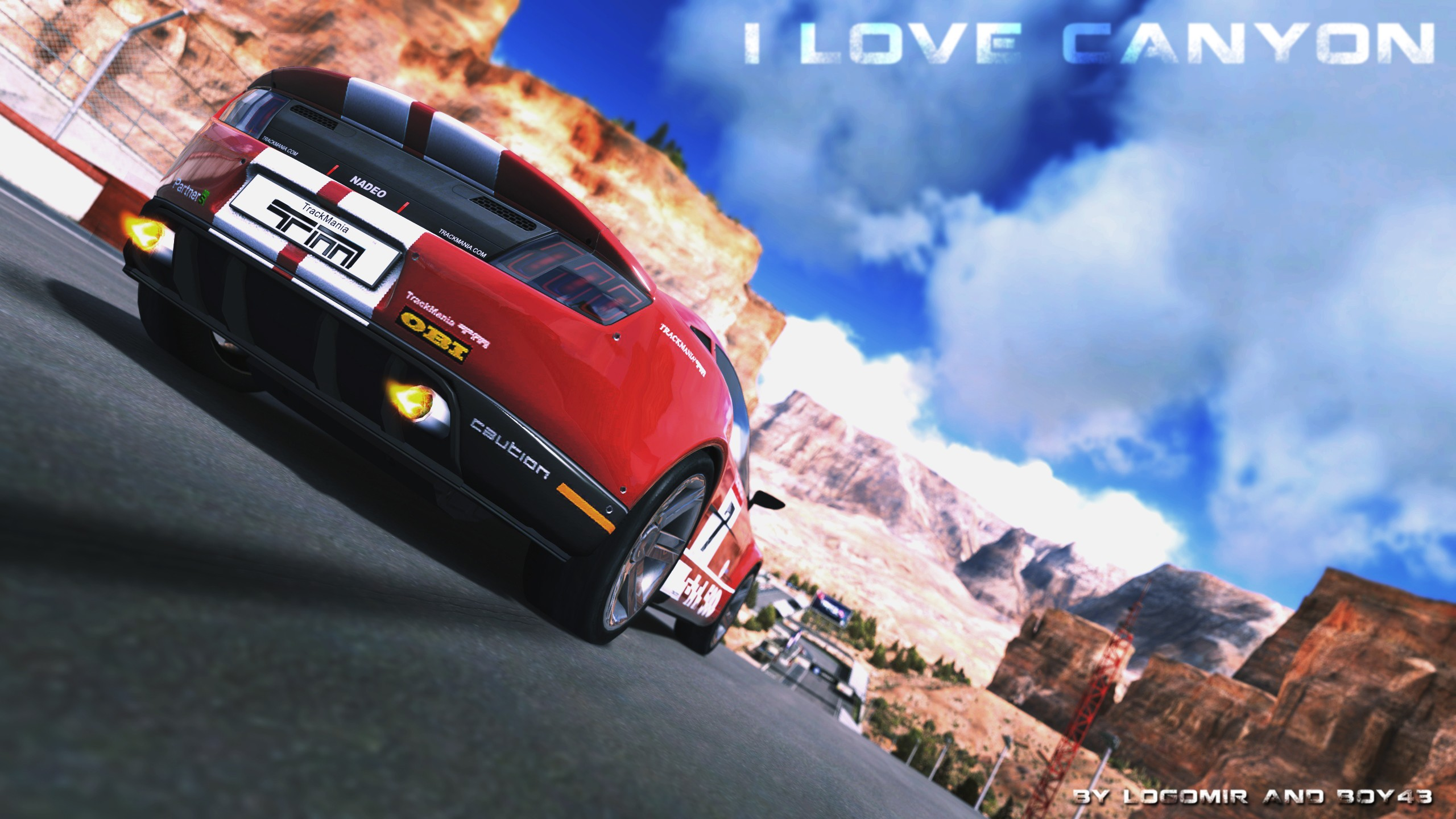 Cars Canyon Trackmania X