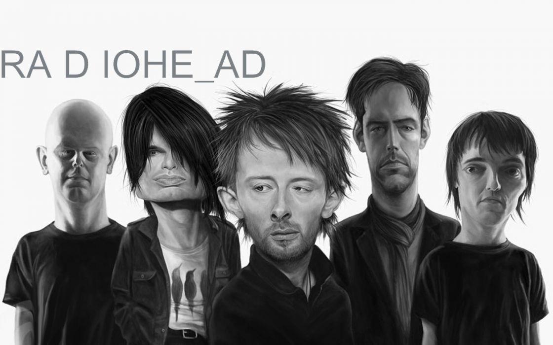 music Radiohead Tom Yorke wallpaper