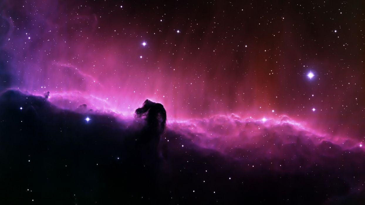 outer space stars nebulae Horsehead Nebula wallpaper
