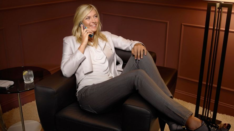 blondes women Maria Sharapova cellphones wallpaper