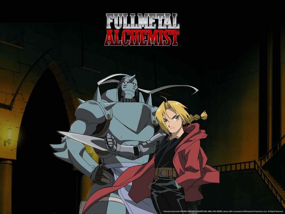 Fullmetal Alchemist Elric Alphonse Edward Wallpaper