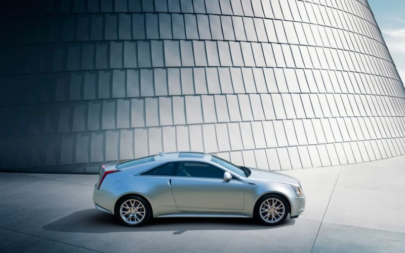 cars coupe Cadillac CTS wallpaper