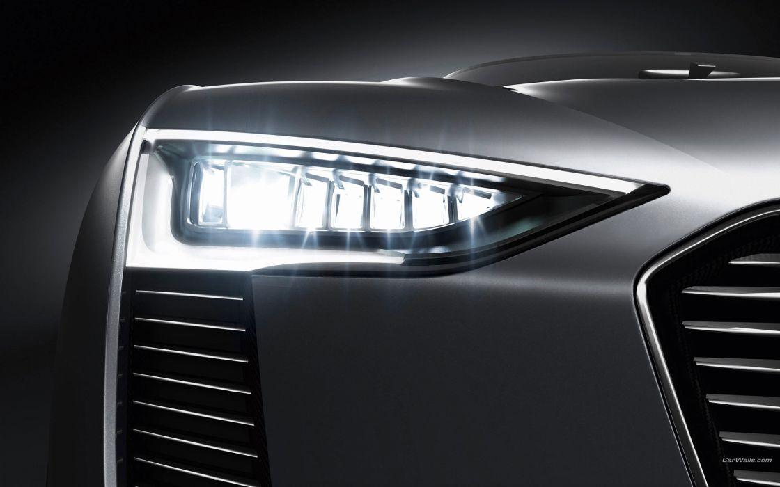 cars Audi Tron concept art spyder headlights wallpaper