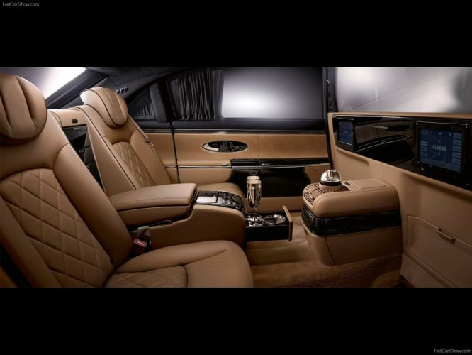 leather cars zeppelin Maybach car interiors luxury Maybach Zeppelin wallpaper