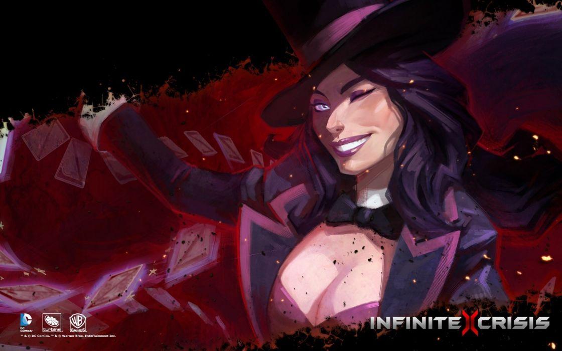 Infinite Crisis - Zatanna wallpaper