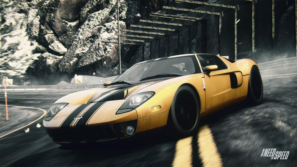 NFS Rivals - Ford GT wallpaper