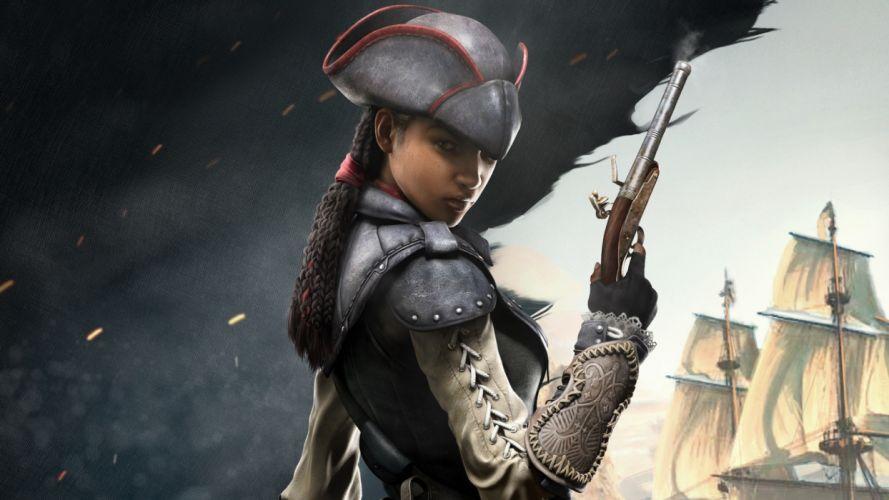 Assassin's Creed 3: Liberation - Aveline wallpaper